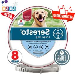 Bayer Seresto Flea and Tick Collar for Large Dog 8 Month Pro