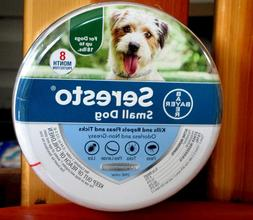 Bayer Seresto Flea and Tick Collar for Small Dog,Up to 18lbs