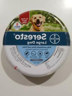 Bayer Seresto Flea and Tick Collar for Large Dog over 18 Ibs