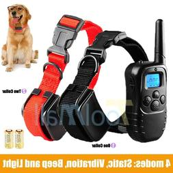 Shock Collar for Small/Medium Dogs + FREE Training Remote -