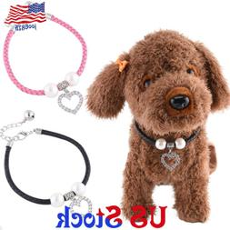 Small Cat Dog Pet Party Pearl Collar Puppy Accessories Jewel