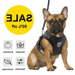 Small Dog Pet Breathable Mesh Harness Vest Collar Chest Stra