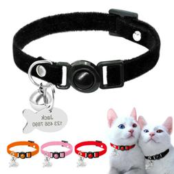 Soft Breakaway Cat Collars with ID Tag Quick Release Safety