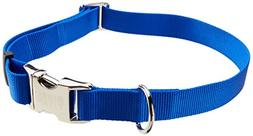 """Titan Adjustable Collar for Large Dogs - 1"""" Blue"""